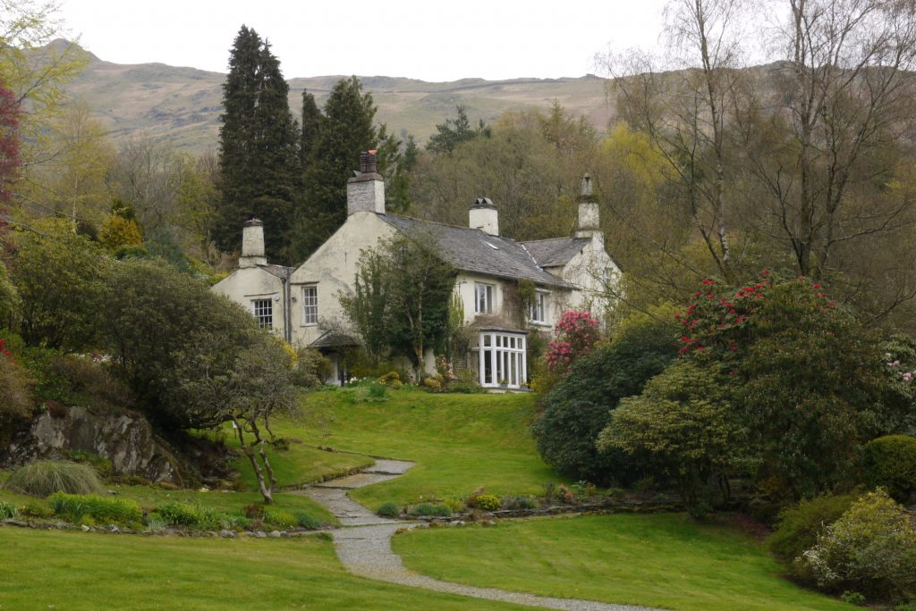 Rydal Mount in the Lake District