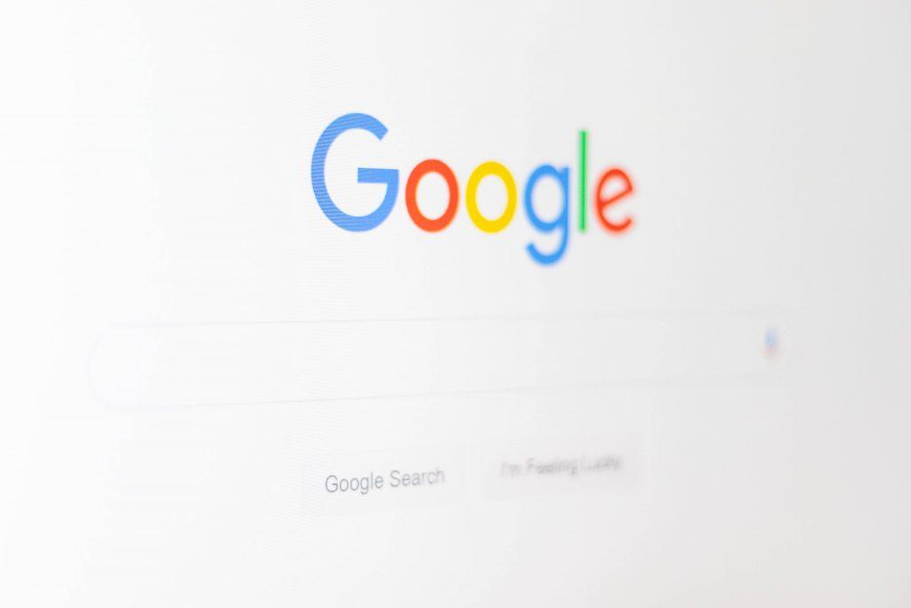 Google search engine logo
