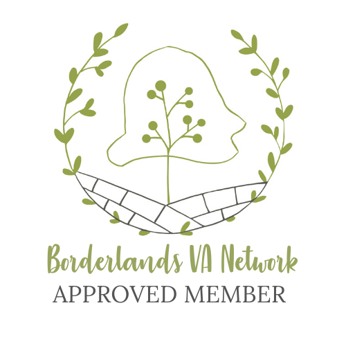 Borderlands VA Network Approved Member logo
