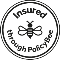 Insured through PolicyBee badge